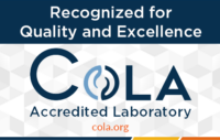 Cola Accredited Laboratory logo