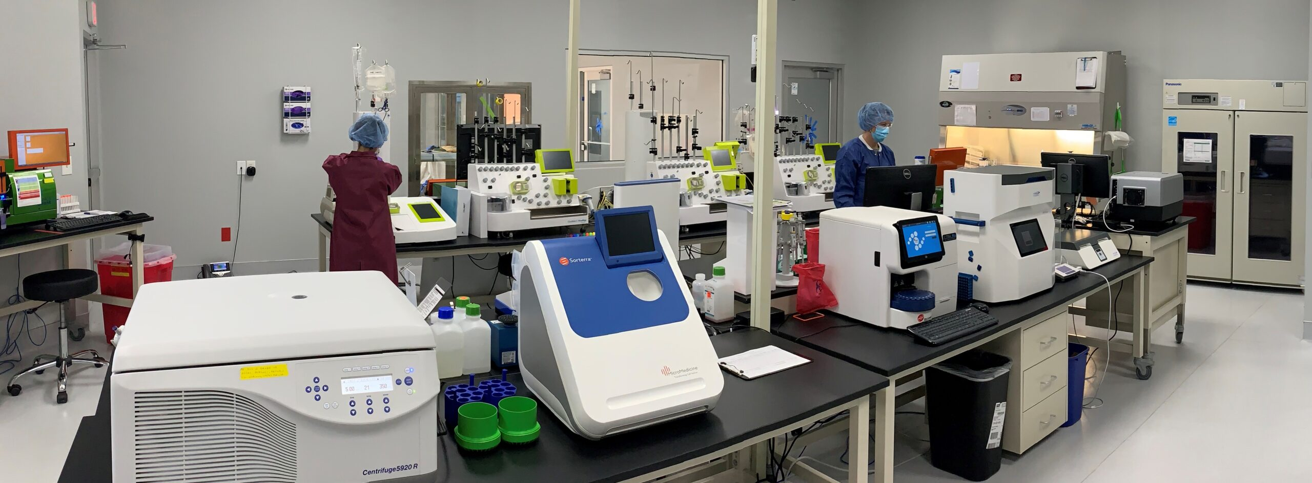 Panorama of lab